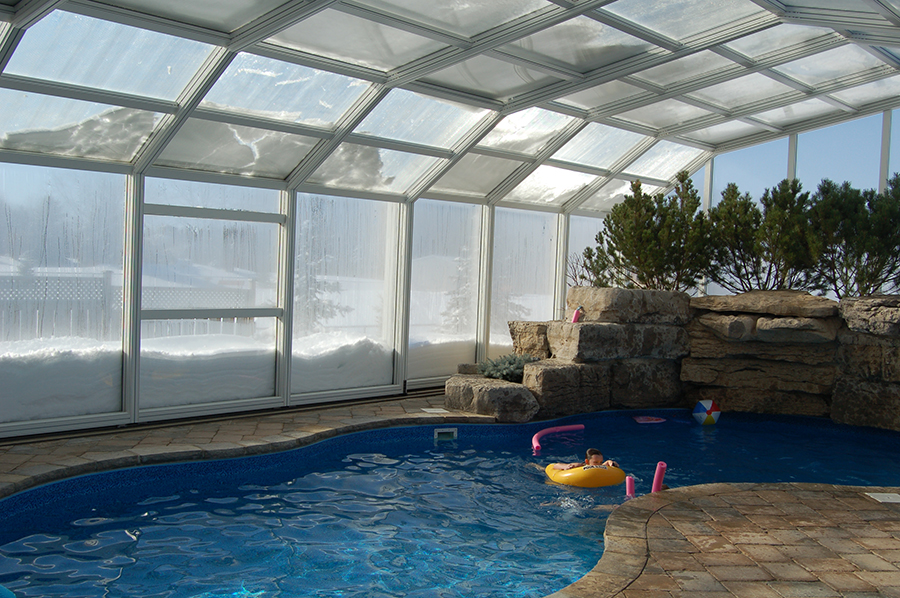 Swim_in_winter with pool enclosure