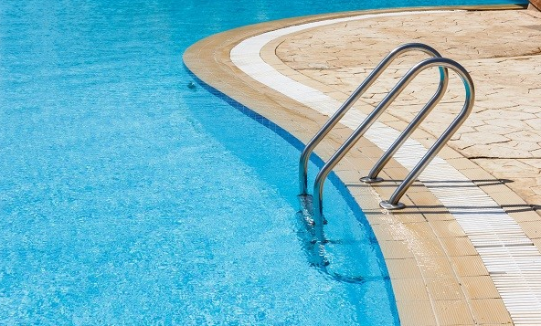 Swimming pool ladder is an important swimming pool accessory