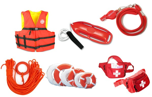 These are swimming pool safety accessories
