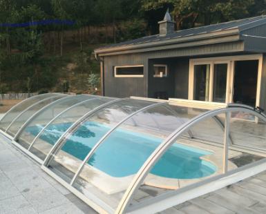 pool enclosure model b 3m x 6m. Black Bedroom Furniture Sets. Home Design Ideas