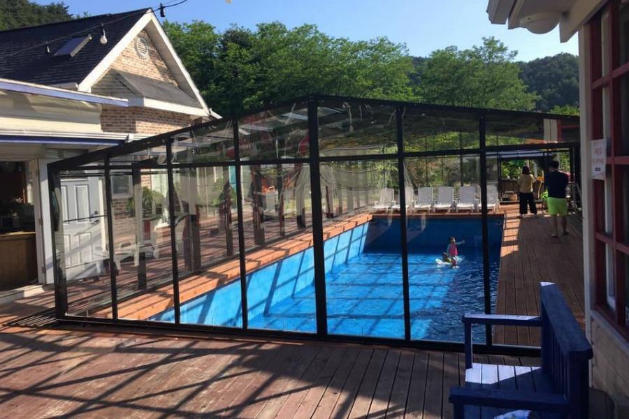Pool Enclosure Model G 7 5m X 14m