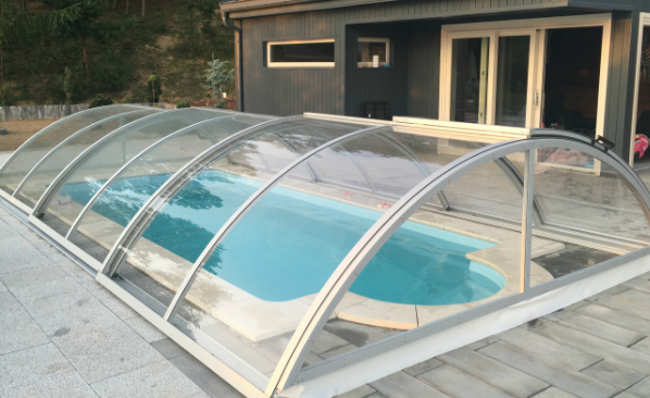 Retractable Pool Enclosure Swimming Pool Cover Manufacturer