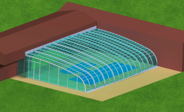 Your Pool Dome Enclosures for above ground Pool