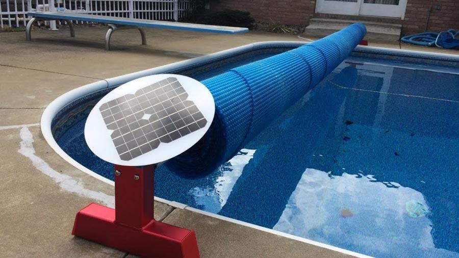 Waterproof Sun-screen Cover Swimming Pool Roll Cover ...