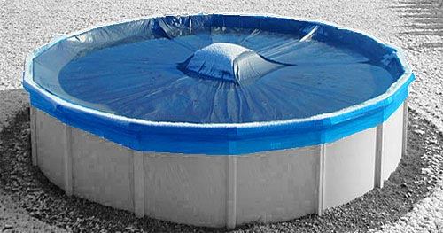 Pool covers the definitive guide to protect your swimming pool excelite pool for Swimming pool winter cover clips