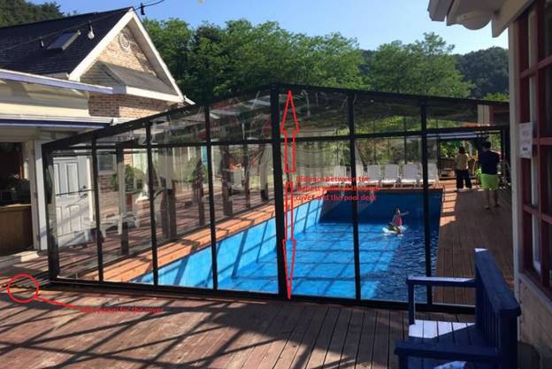 High Swimming Pool Enclosure   Model G High Profile Type Of Enclosure