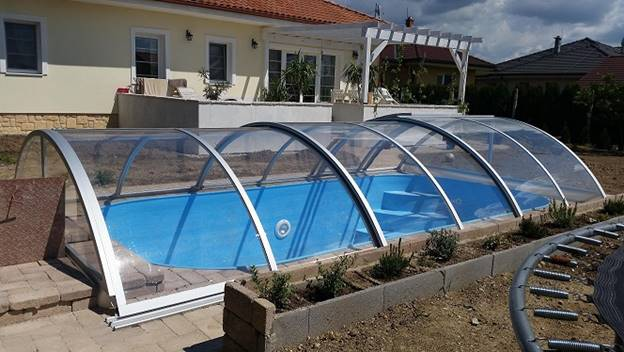 Simple Swimming Pool Enclosure Design