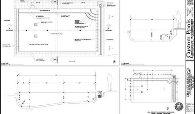 Swimming pool installation the step by step guide to for House plan with swimming pool