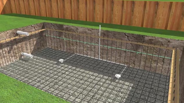 Swimming pool installation the step by step guide to for Como construir una piscina de material