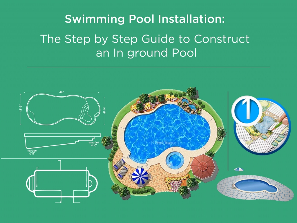 Swimming pool installation the step by step guide to - Usa swimming build a pool handbook ...