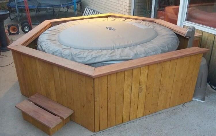 Figure 17 Inflatable Hot Tub Enclosure