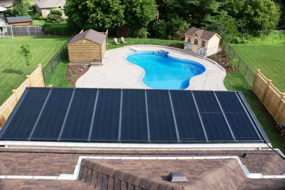 Figure 18 Solar Pool Heater Excelite Pool