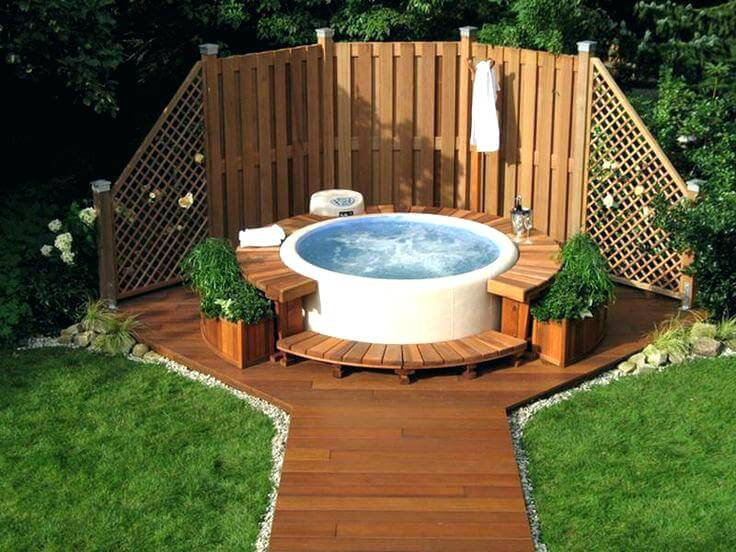 Hot Tub Privacy