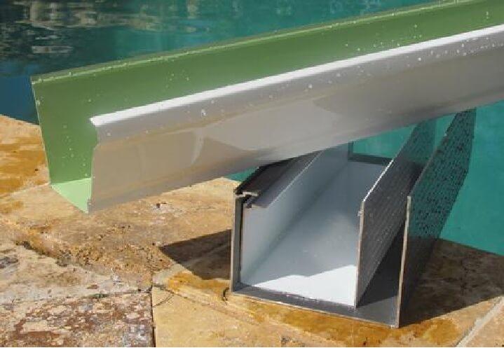 Figure 9 Patio Enclosure Gutter Excelite Pool